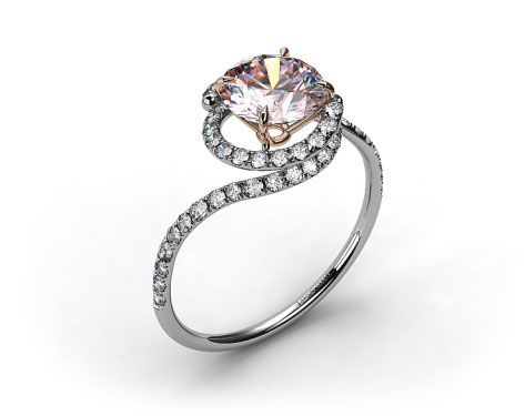 modern engagement rings for the style savvy modern