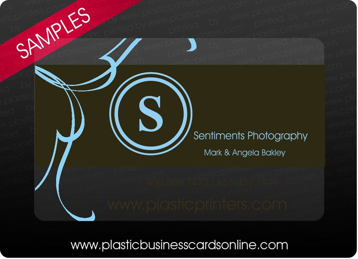 Plastic Business Cards Samples, Examples, and Design Ideas ...