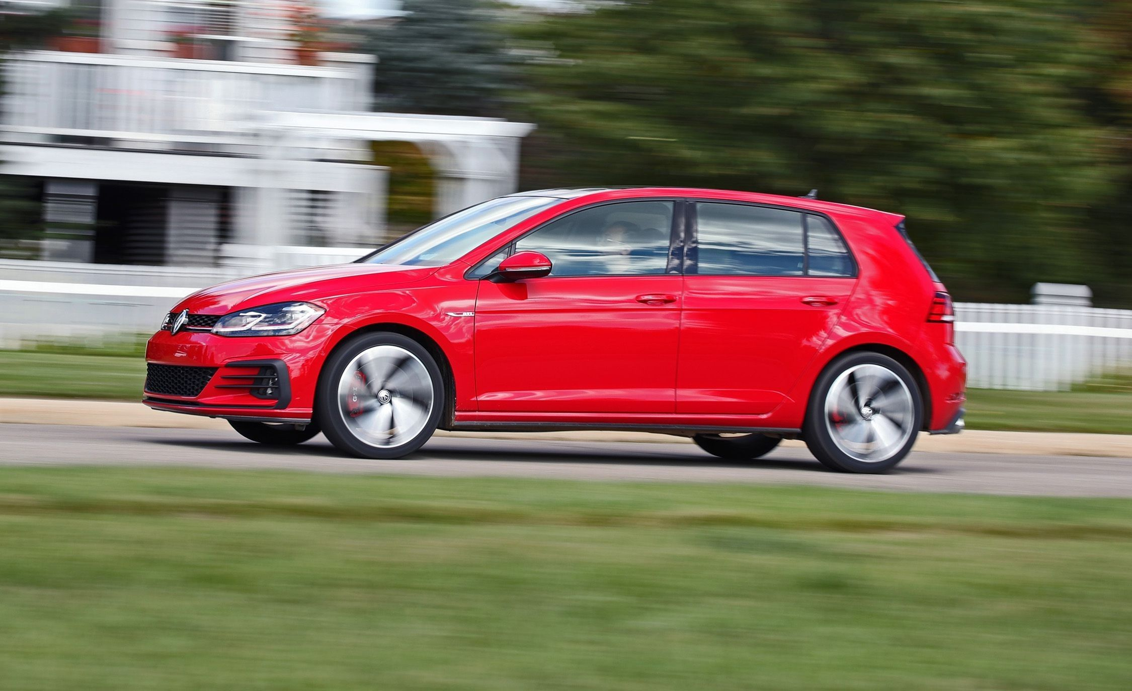 2018 Volkswagen Golf Gti Exterior And Interior Review Car Review