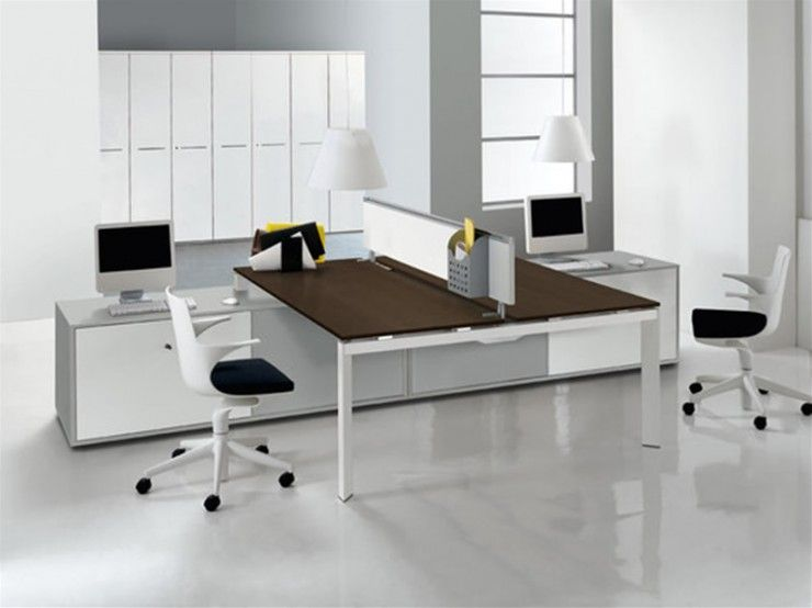 Two Heads Can Be Better Than One For Work Productivity Share Modern Office Furniture Design Contemporary Office Furniture Contemporary Home Office Furniture