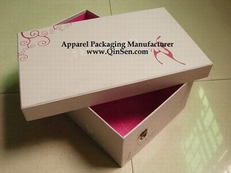 Box & Custom Shoe Box - PX000142 Custom branded Shoe Box with Pink ... Aboutintivar.Com