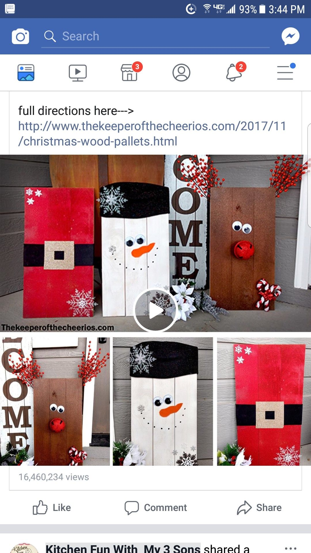 Pin by Cecilia Chilcott on holiday crafts Fun christmas
