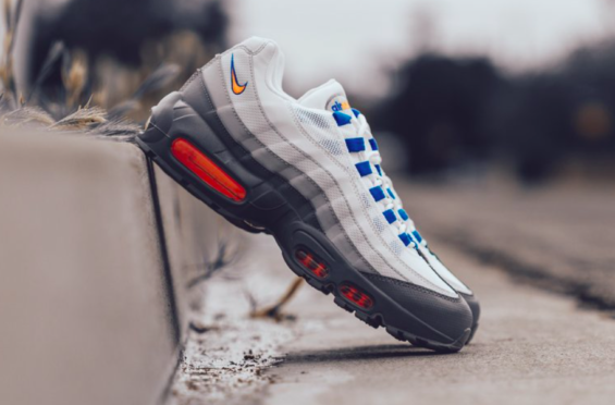 cb158f1f51 Look For The Nike Air Max 95 Essential Cool Grey Total Orange Now The Nike  Air