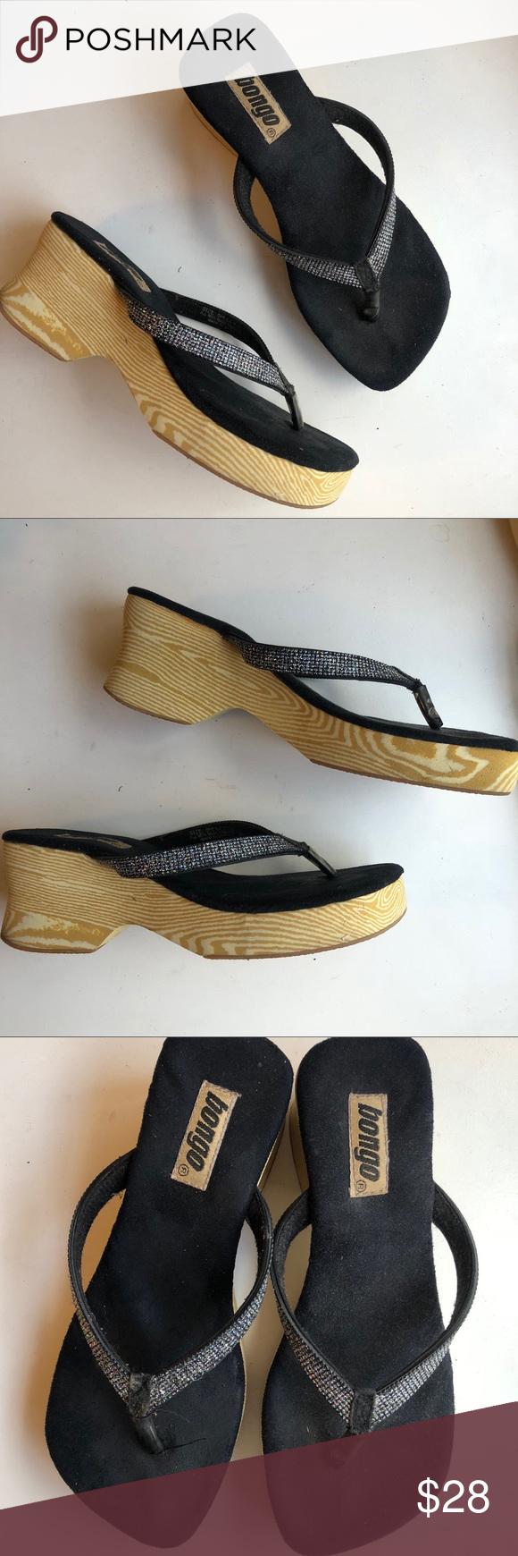 ab8cf941df1 ◽️Bongo◽️vintage 90 s platform sandals Awesome vintage 90 s Bongo flip flops!  Platform foam