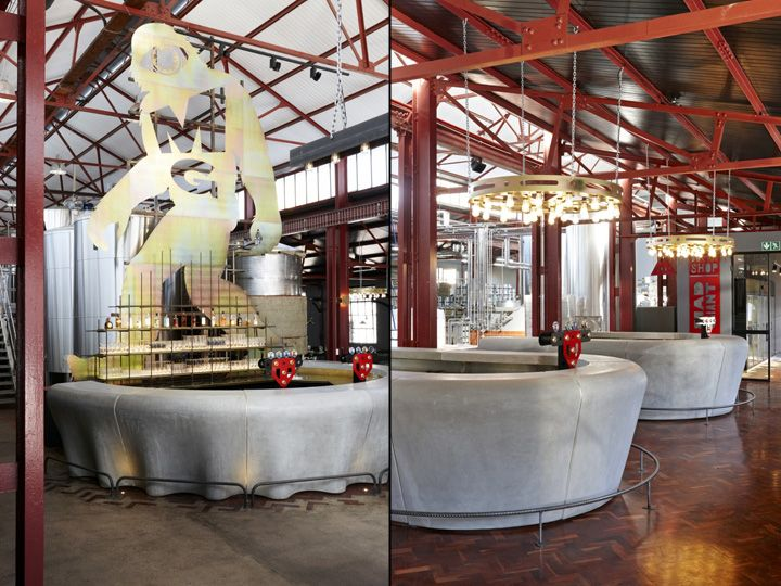 Mad Giant Brewery And Restaurant By Haldane Martin Johannesburg South Africa Retail Design