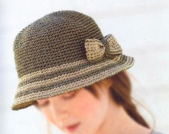 372871ba5 PDF download crochet summer sun hat Pattern | Hats | Crochet summer ...