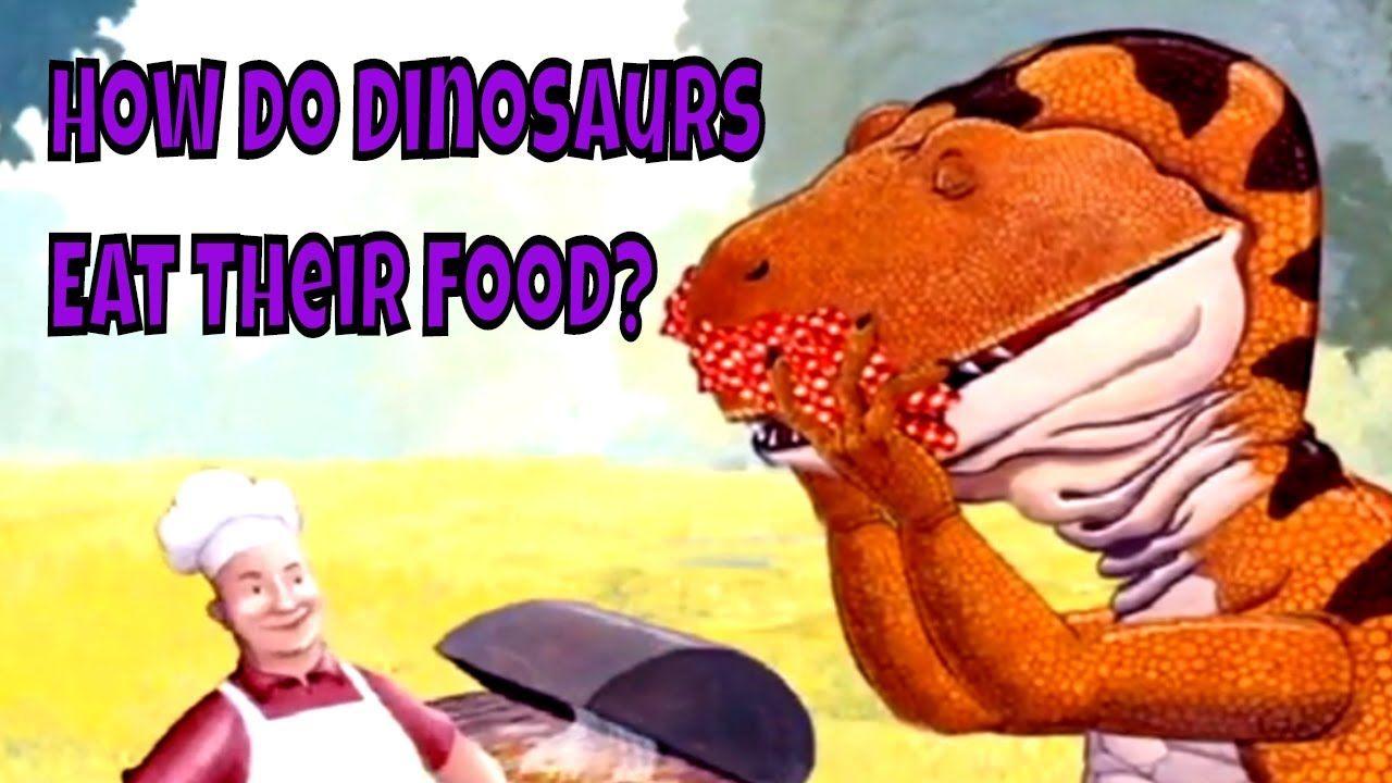 Children books read aloud how do dinosaurs eat their