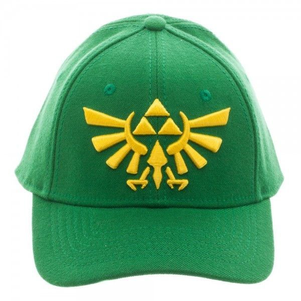 2630c07e6fadb Nintendo Legend of Zelda Green Flex Cap Hat