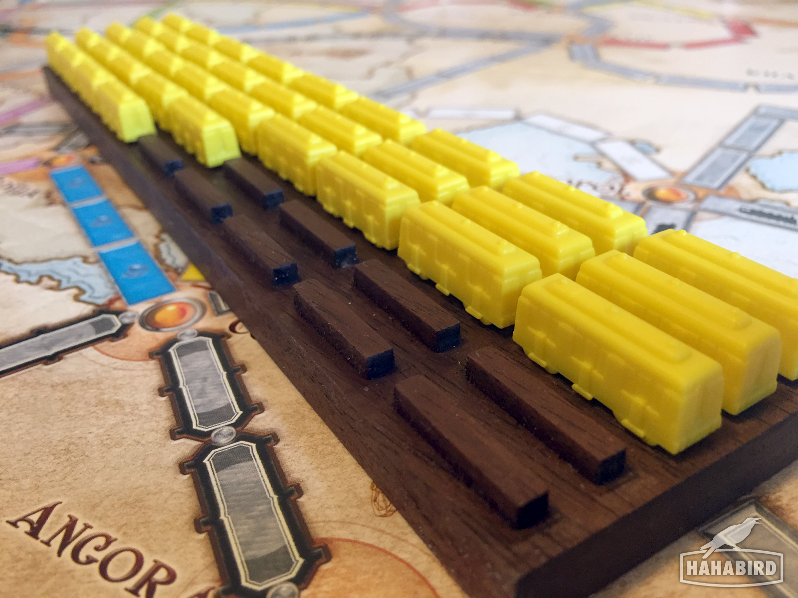 making a train yard for ticket to ride | diversions | pinterest