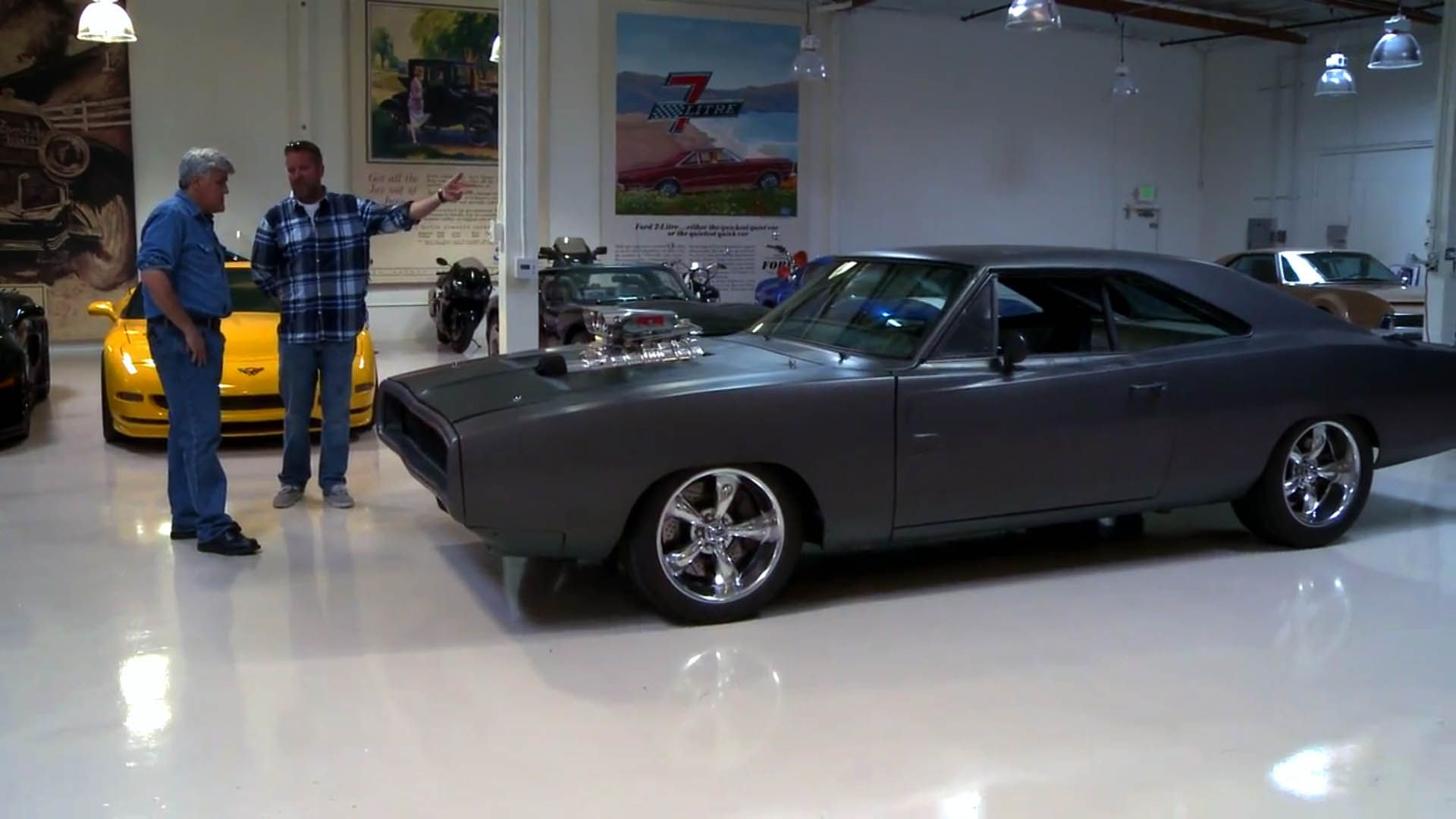 Fast Five Movie Cars Jay Leno S Garage Streetworld Jay Leno