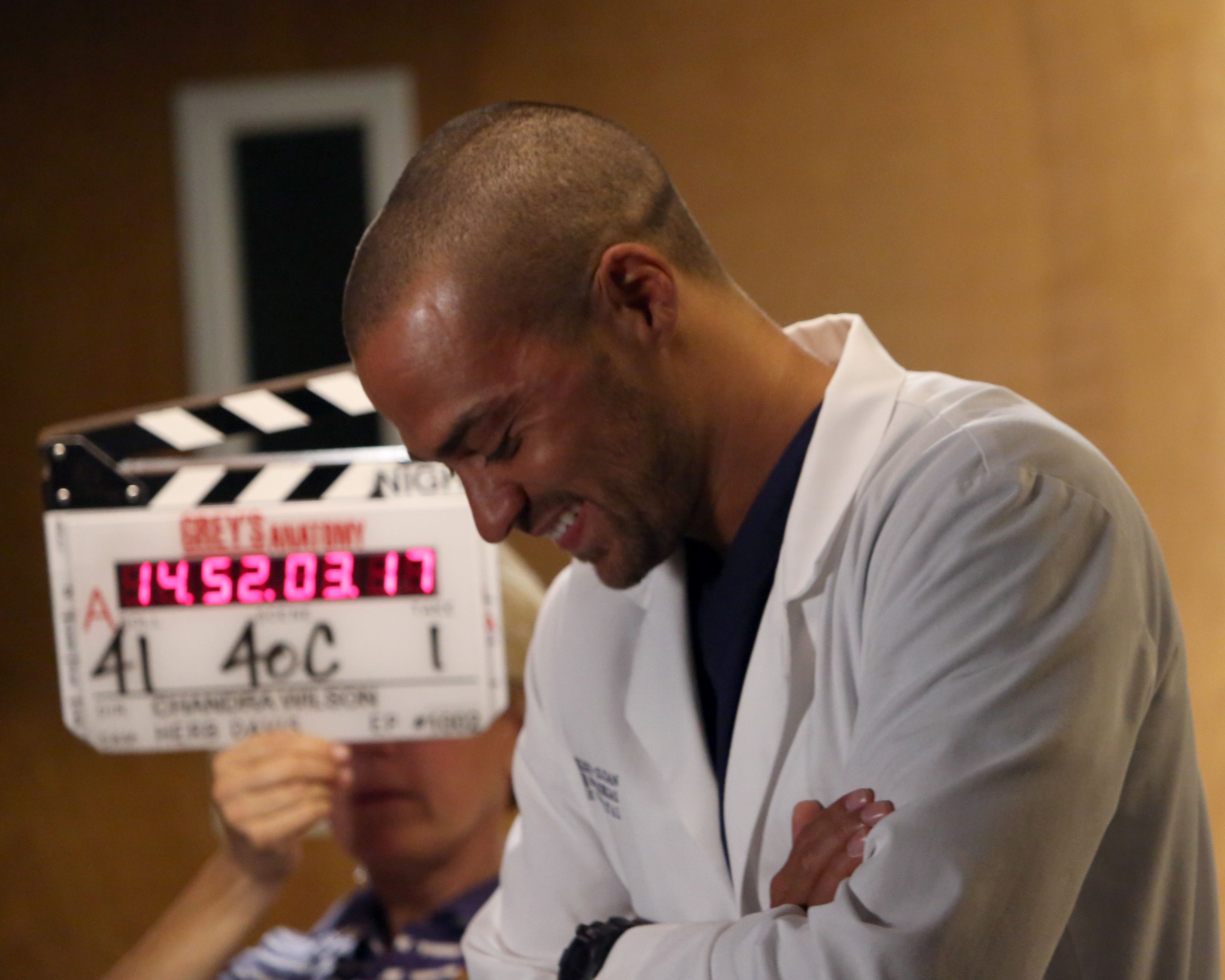 Behind the scenes of Grey\'s Anatomy with Jackson Avery played by ...