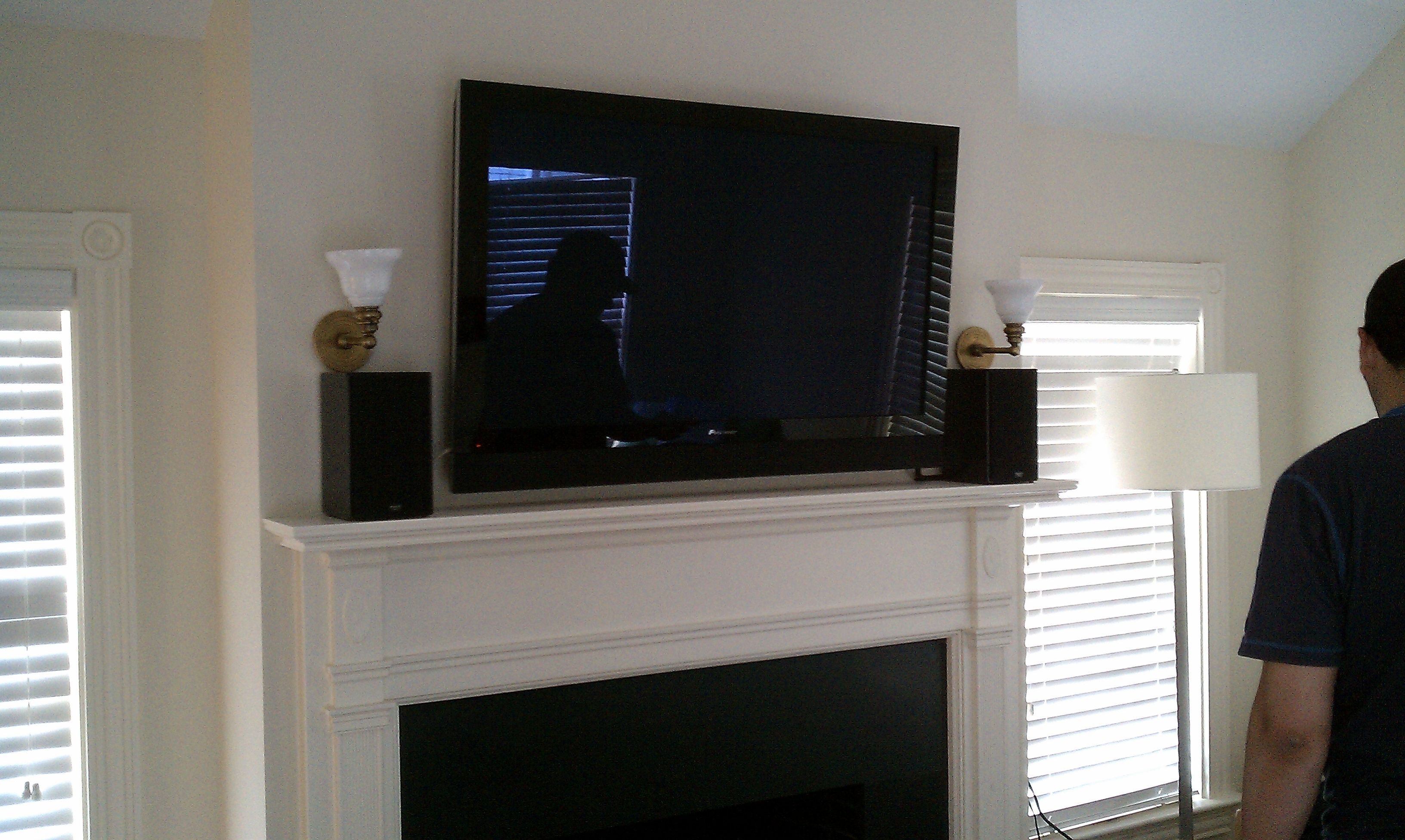 Mounting A Tv On A Plaster Wall Plaster Walls Tv Above Fireplace Plaster
