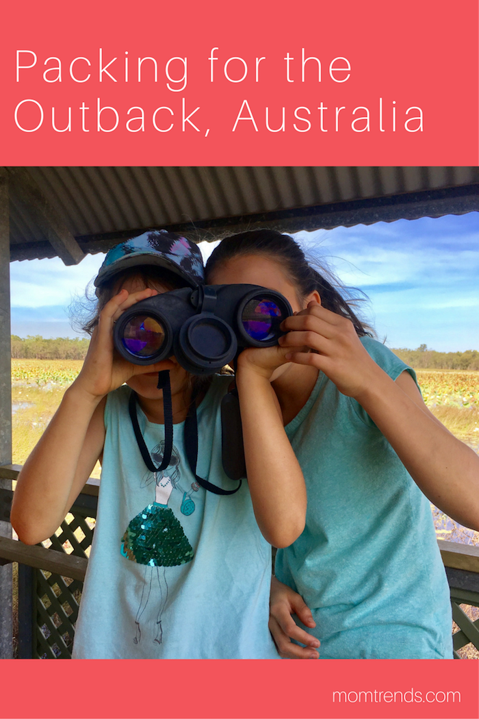 Mom Tips for Packing for the Outback Travel essentials