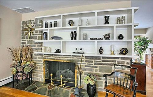 Mid Century Modern Fireplaces 32 photos - 1960 time capsule mid century modern ranch house