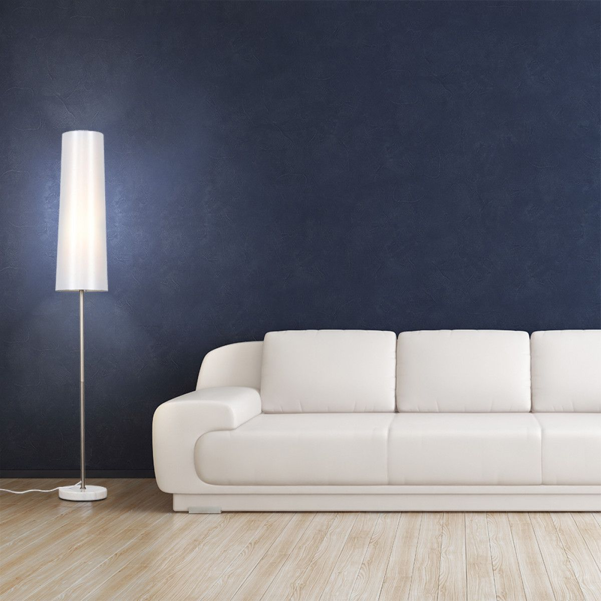 Orcollo White Marble Floor Lamp #whitemarbleflooring