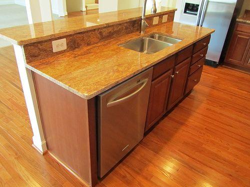 Kitchen Remodel Layout Kitchen Island With Dishwasher