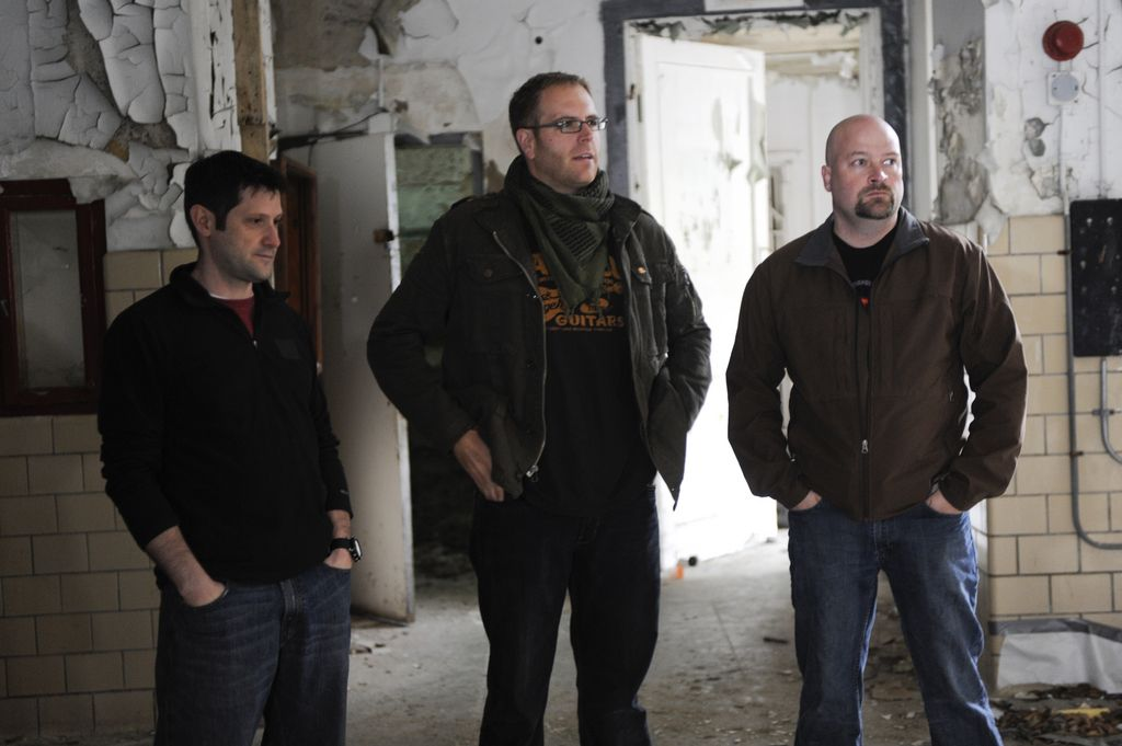 Grant, Josh and Jason (ghost hunters and destination truth)   People