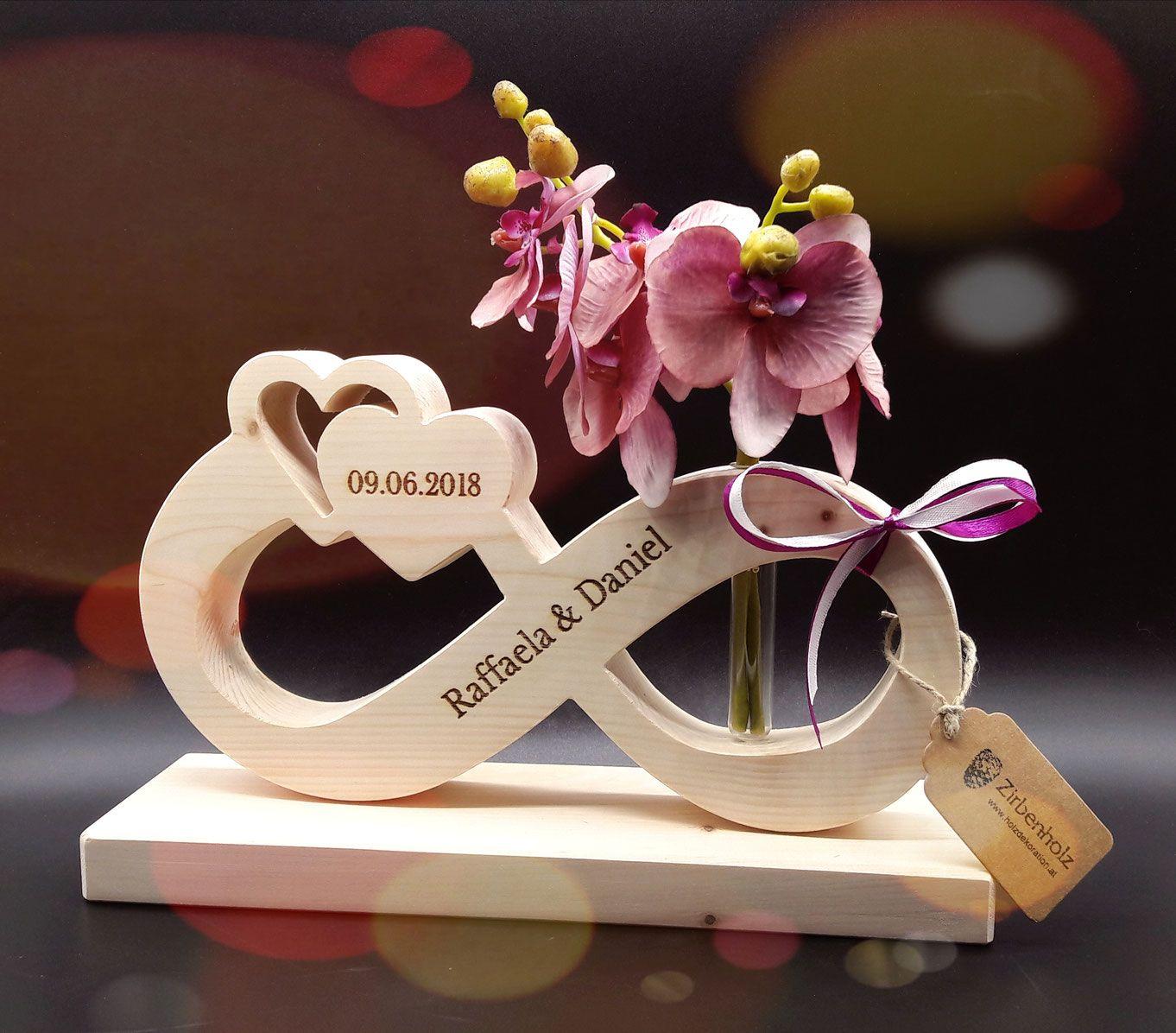 Hochzeitsgeschenke Aus Holz Die 20 Schonsten Ideen Tipps