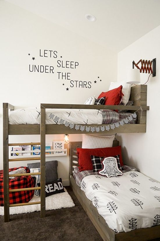 7 Shared Bedroom Hacks That Will Make Everyone Happy Boys Bedrooms Toddler Bedrooms Shared Bedroom