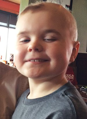 Benefit held for young boy with rare brain cancer.