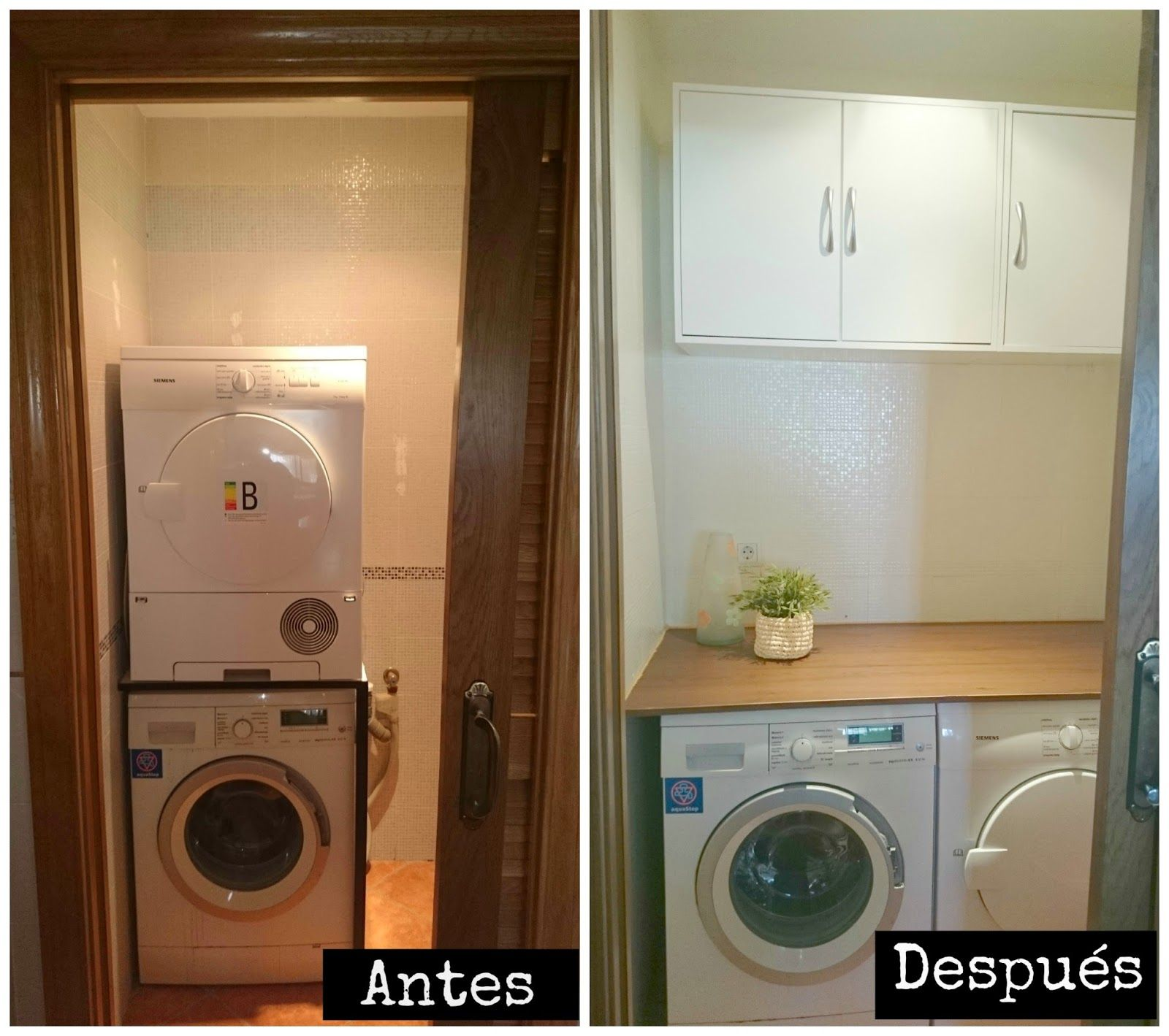 Renueva tu lavadero gastando pocos euros. #DIY #home #deco