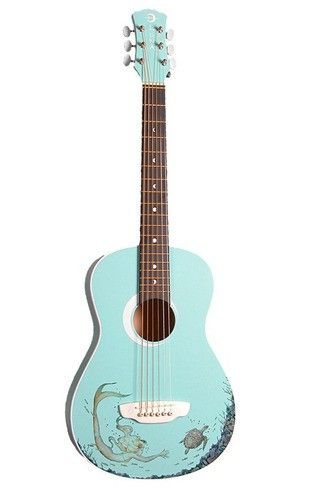 Decorative Acoustic Guitars: This would be a fun project for our kid ...