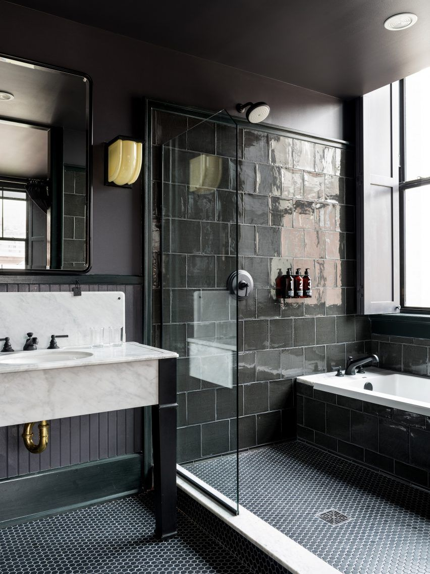 Badezimmer Inspiration Pinterest Ace Hotel New Orleans Occupies Extended Art Deco Building Bad