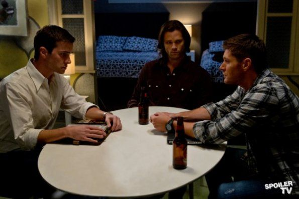 "Dean + Sam + Grandpa Henry Winchester 8.12 ""As Time Goes By"""