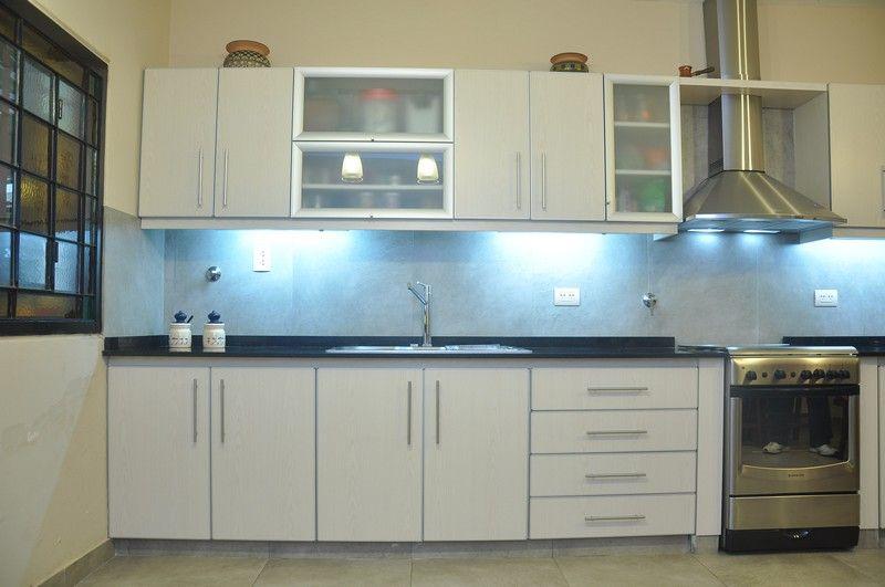 mueble de cocina en melamina color fresno abedul   LESAR ...