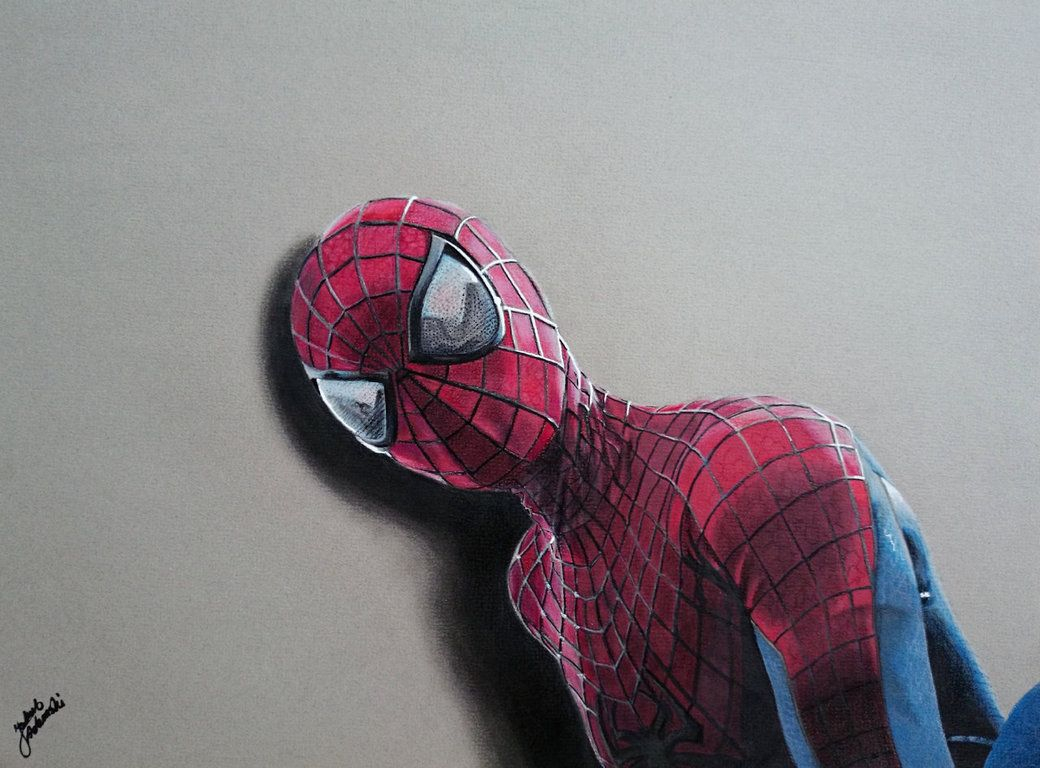The Amazing Spider-Man Drawing by JakubQaazAdamski on DeviantArt