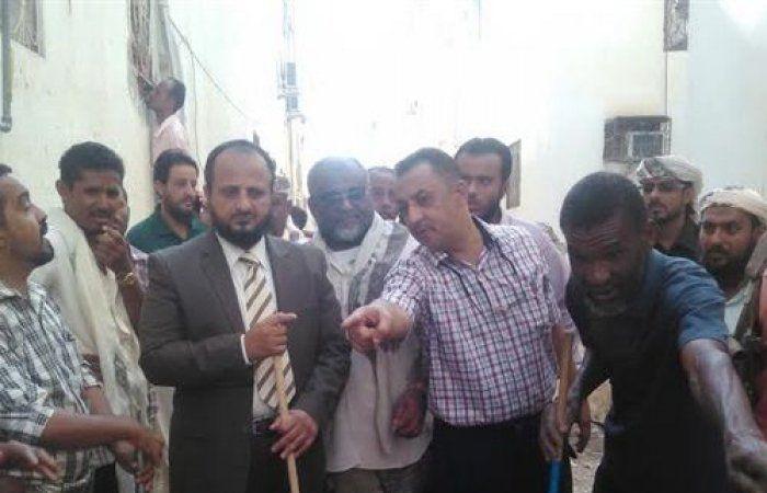 اخبار اليمن العربي: تدشين حملة النظافة الشاملة في مدينة انماء السكنية بعدن (صور)