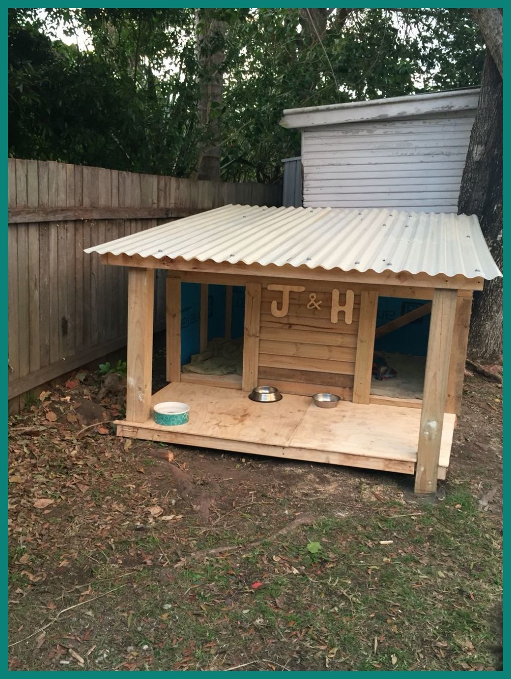 How To Build A Large Dog House Diy We Have An Outside Pet That