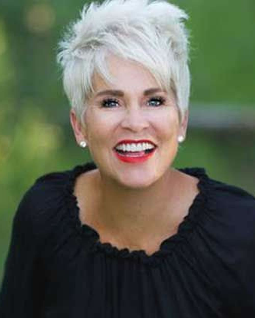 Image result for short hair styles for women over 50 gray