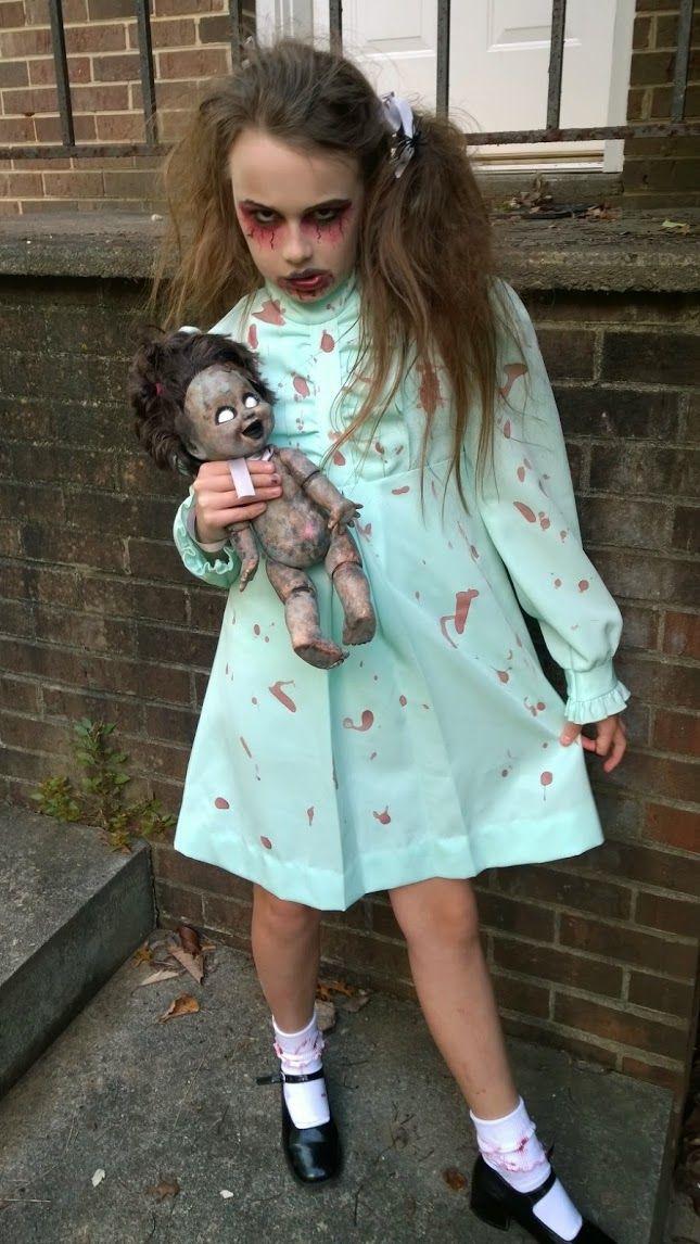 Goodwill Halloween Costume Contest Creepy Little Girl I Did Get