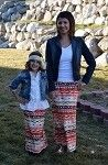 Maxi Skirt Mommy - Coral Aztec only $9.99 for girls and $14.99 for mommy. at www.gabskia.com also like us on facebook  https://www.facebook.com/gabskiaccessories