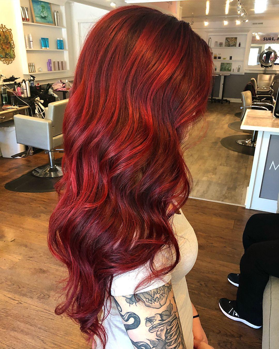 Wrath In 2020 Red Hair Inspo Fox Hair Dye Red Blonde Hair