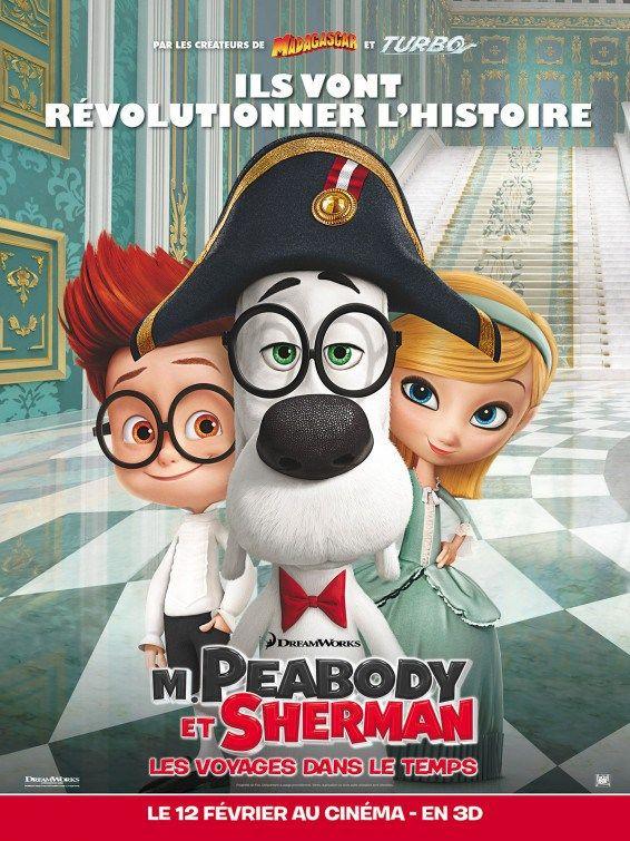 Posters Oficiales Las Aventuras De Peabody Y Sherman Las Aventuras De Peabody Y Sherman Peliculas De Animacion Peliculas De Disney