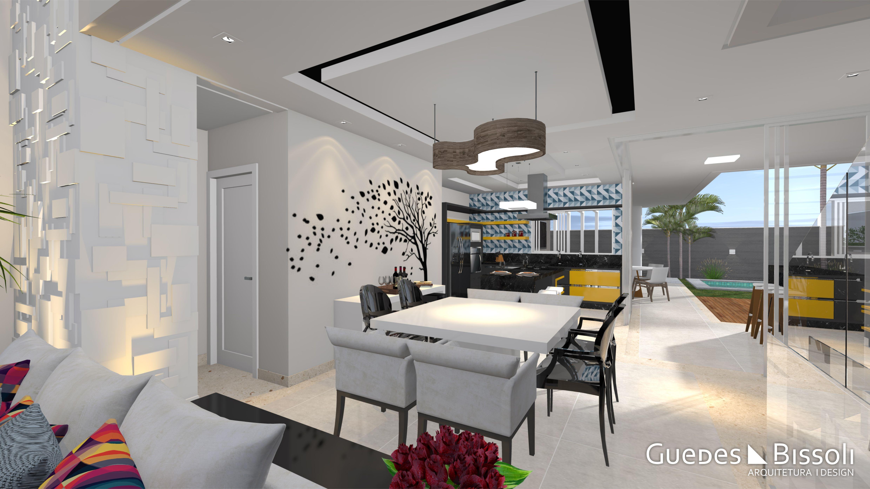 Sala De Jantar Composta Por Uma Mesa Quadrada Branca Na Parede  -> Adesivo Sala De Jantar