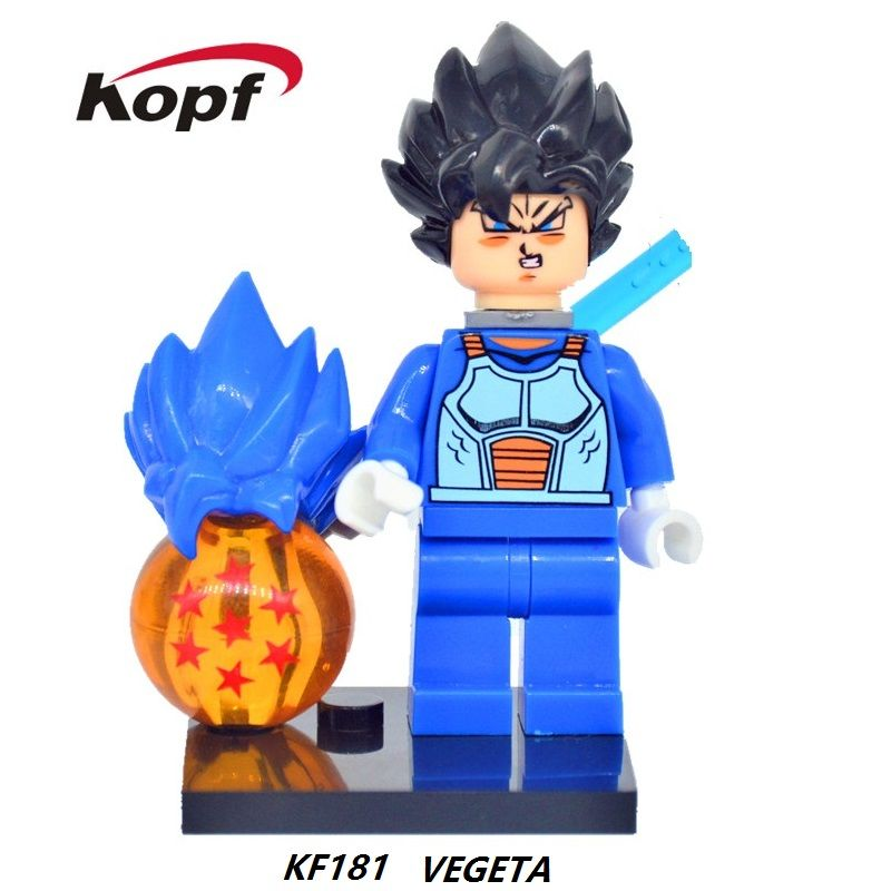 Goku Dragon Ball Z Lego Moc Minifigure Gift For Kids New /& Sealed Wounded