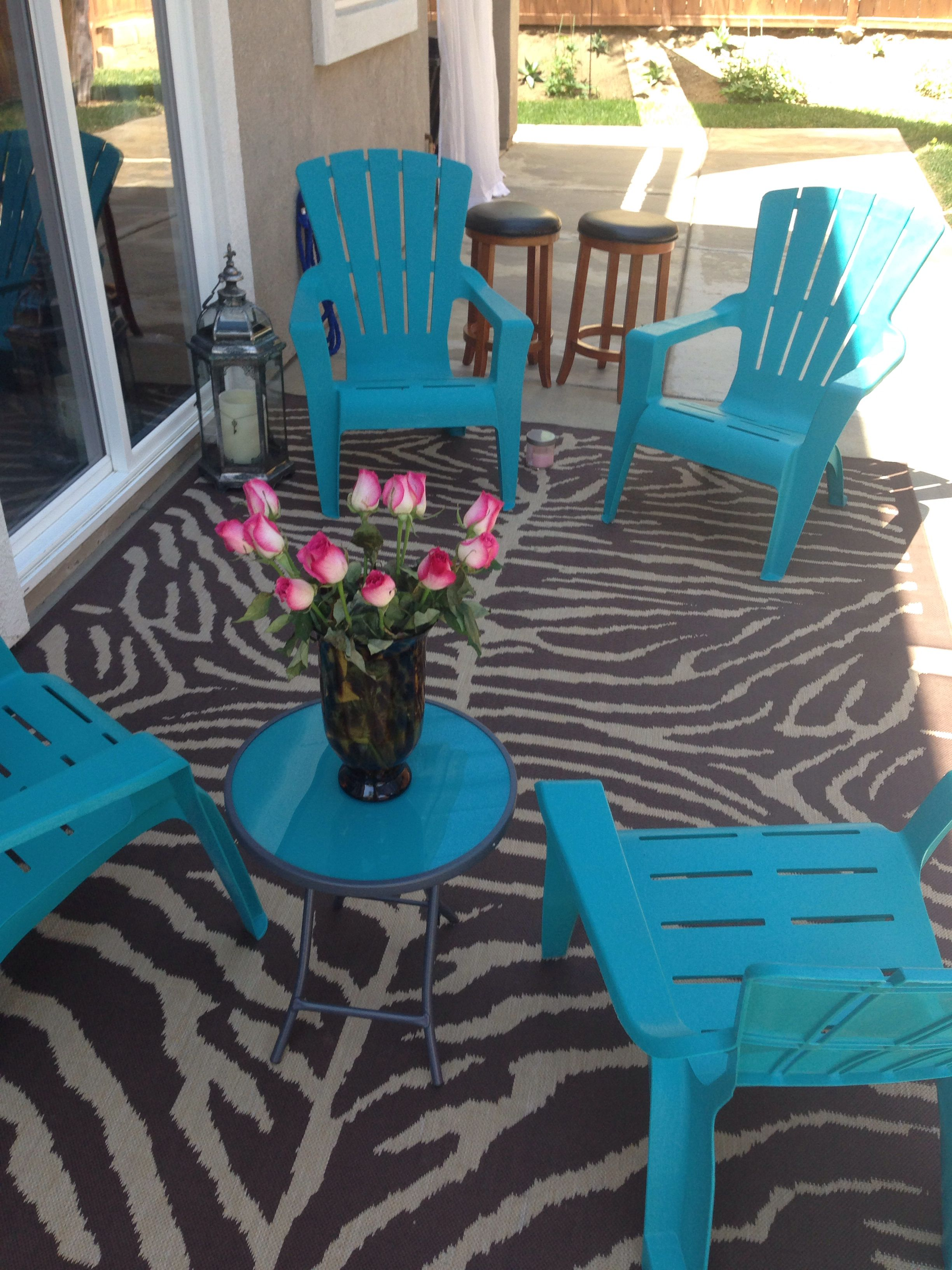 For Backyard Outdoor Rug Off Craigslist And Chairs And Table From Target Moroccan Lantern From Home Goods Candle Outdoor Rugs Best Candles Outdoor Tables