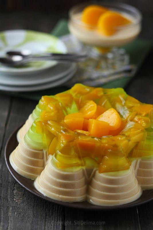 Pudding Jelly Peach Dari Dapur Ct
