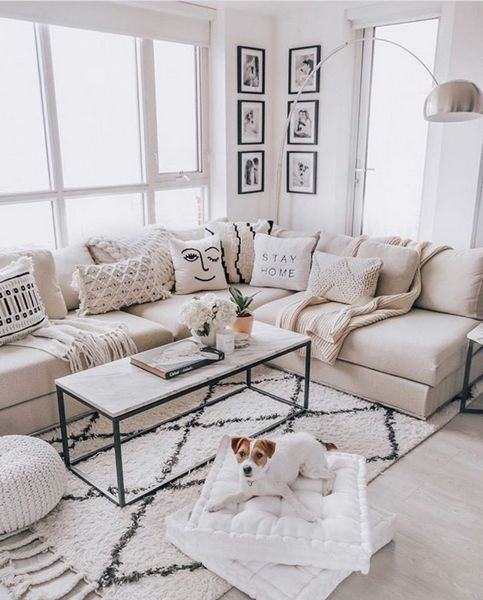 Photo of You will usually discover furniture made of cotton, linen, silk or wool. #ba … – pinturest