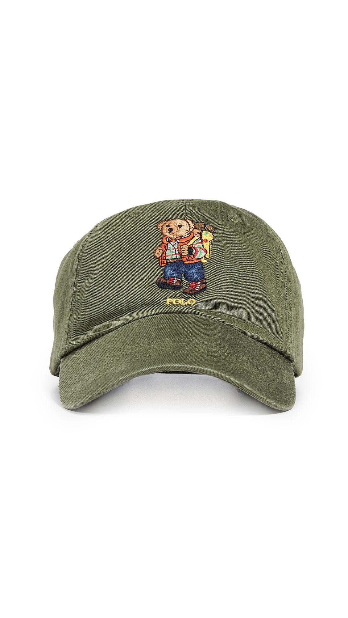 dedf74ef57ca2 POLO RALPH LAUREN HIKING BEAR CAP.  poloralphlauren
