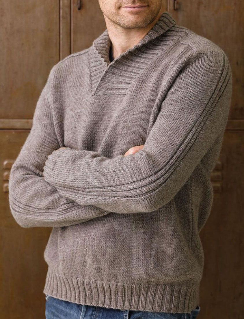 shawl collar jumper knitting pattern shawl collar jumper ...