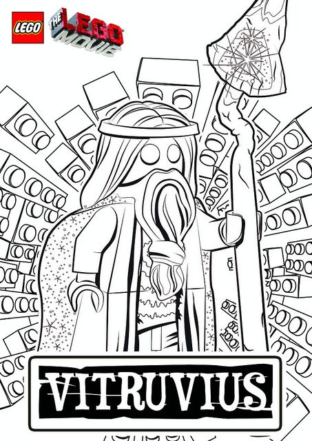 The LEGO Movie Coloring Pages - Vitruvius by tormentalous, via ...