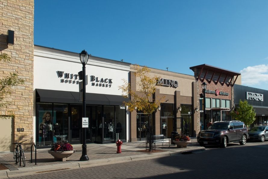 St Louis Park Mn Shopping At West End Stores Retail