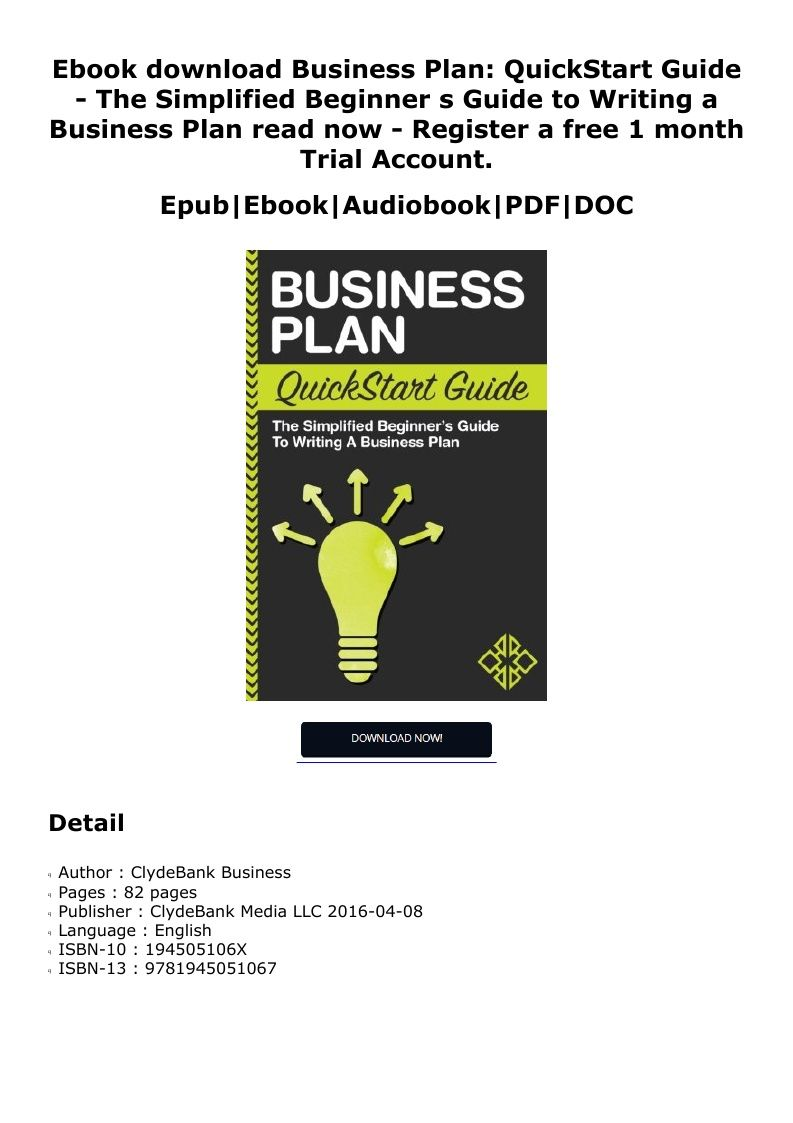 Pin by nesinese on pdf youself Writing a business plan