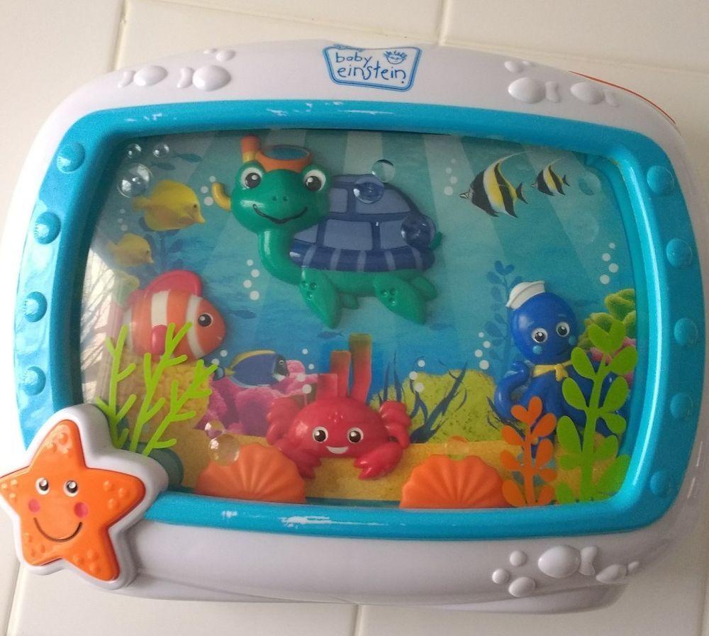 cb3cc8e8acc Baby Einstein Sea Dreams Soother toy game Musical Aquarium ...