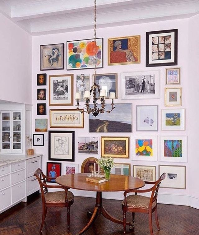 Floor To Ceiling  For The Home  Pinterest  Ceiling Gallery Best Dining Room Wall Art Decorating Design