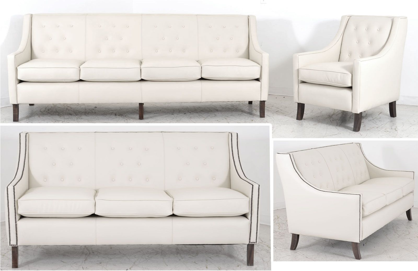 Fantastic Hemingway Sofa Set The Leather Sofa Company Leather Onthecornerstone Fun Painted Chair Ideas Images Onthecornerstoneorg